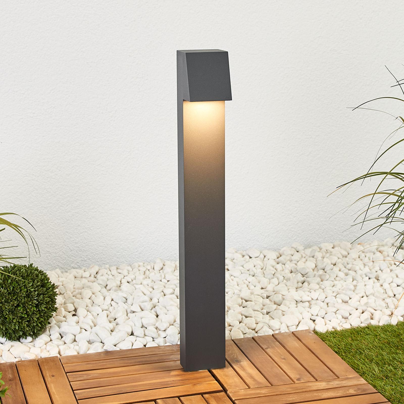 BEGA - kątowy słupek oświetleniowy LED 77237K3