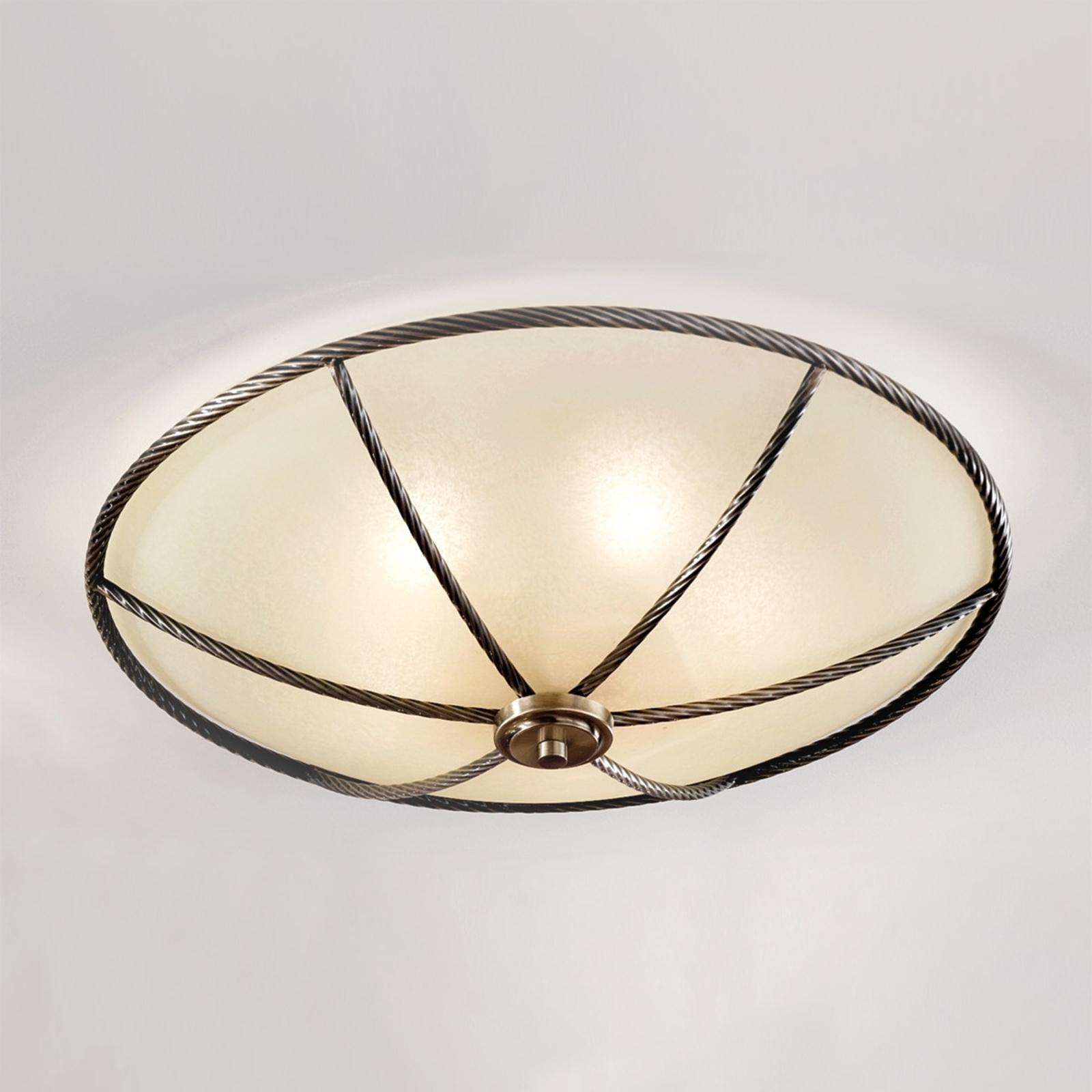Lampa sufitowa kolor szampański Galina 56 cm