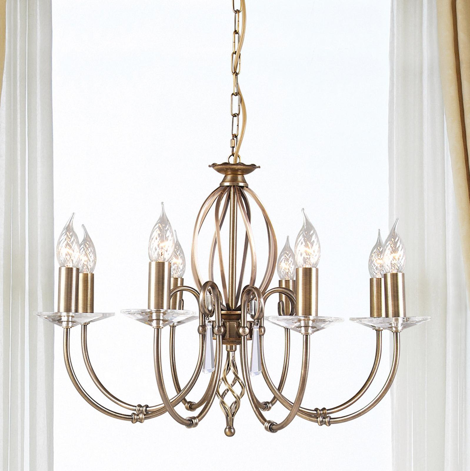 8-light chandelier Aegean_3048319_1