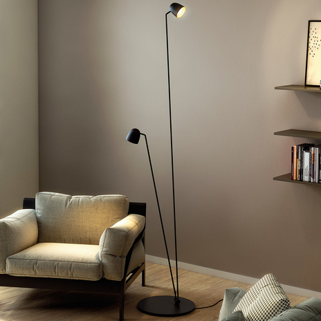 Regulowana lampa stojąca LED Speers F