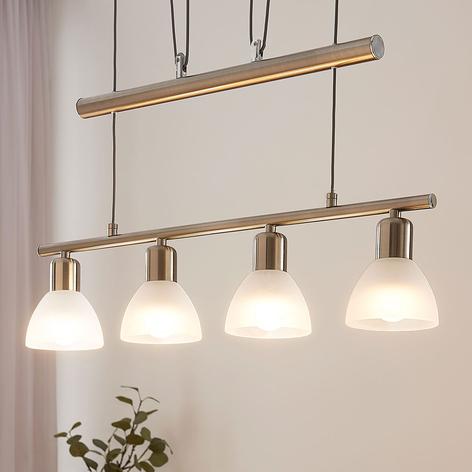 Höhenverstellbare LED-Balkenpendellampe Gwendolin
