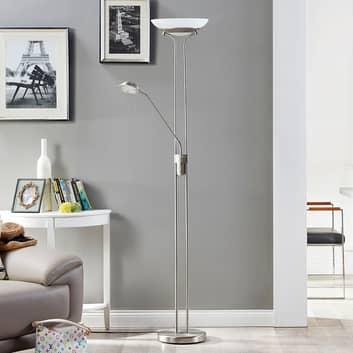 LED plafondspot Yveta met leeslamp