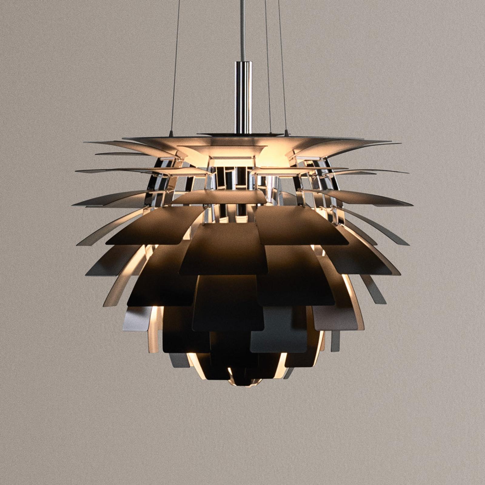 Louis Poulsen PH Artichoke hængelampe, sort, 48 cm