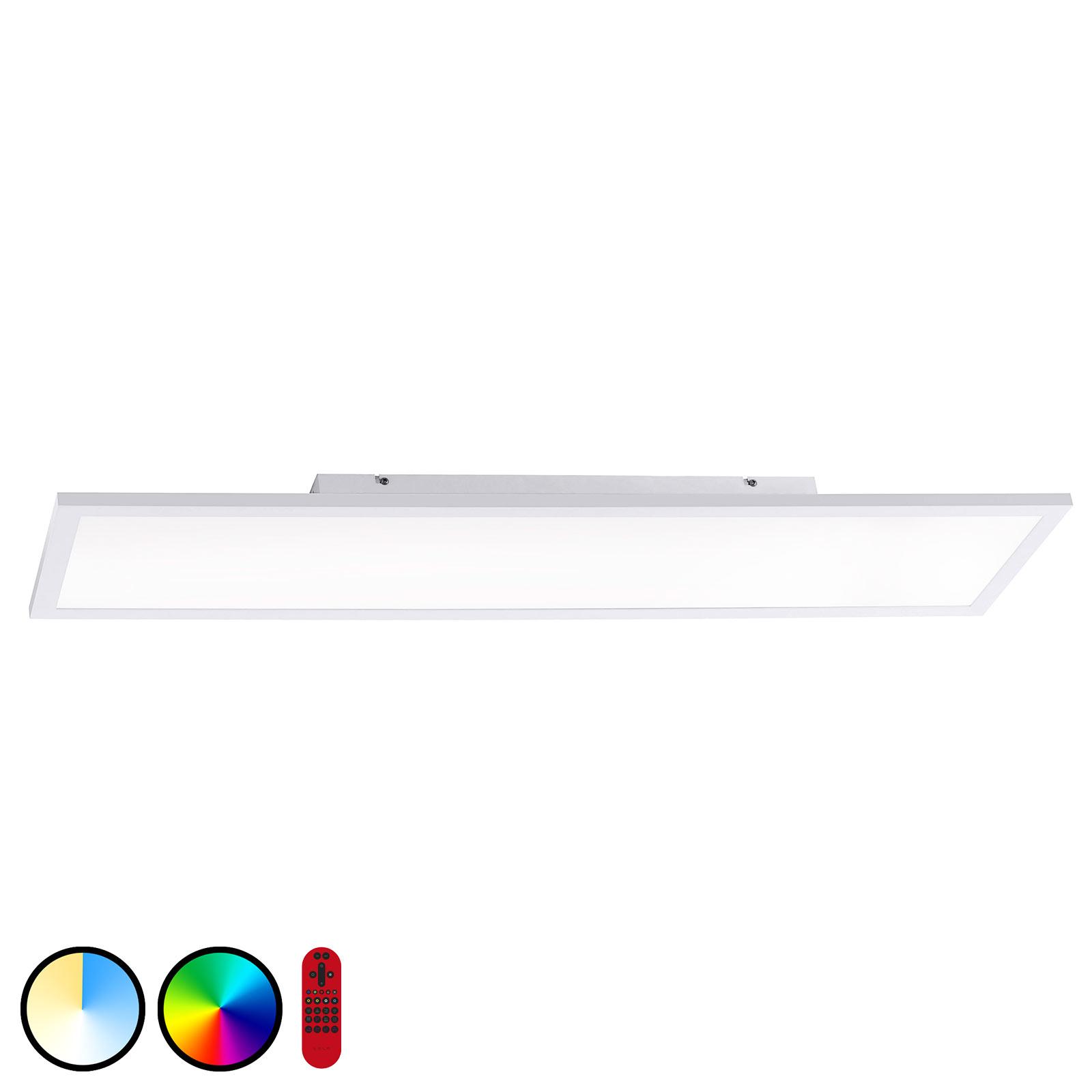 LOLAsmart Flat LED-taklampe, 100 x 25 cm