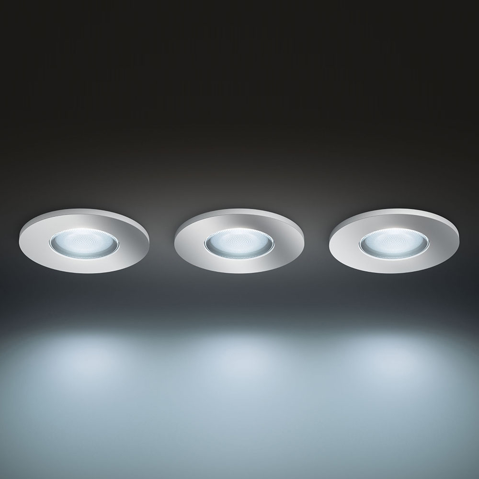 Philips Hue white Ambiance Adore inbouwspot, per 3