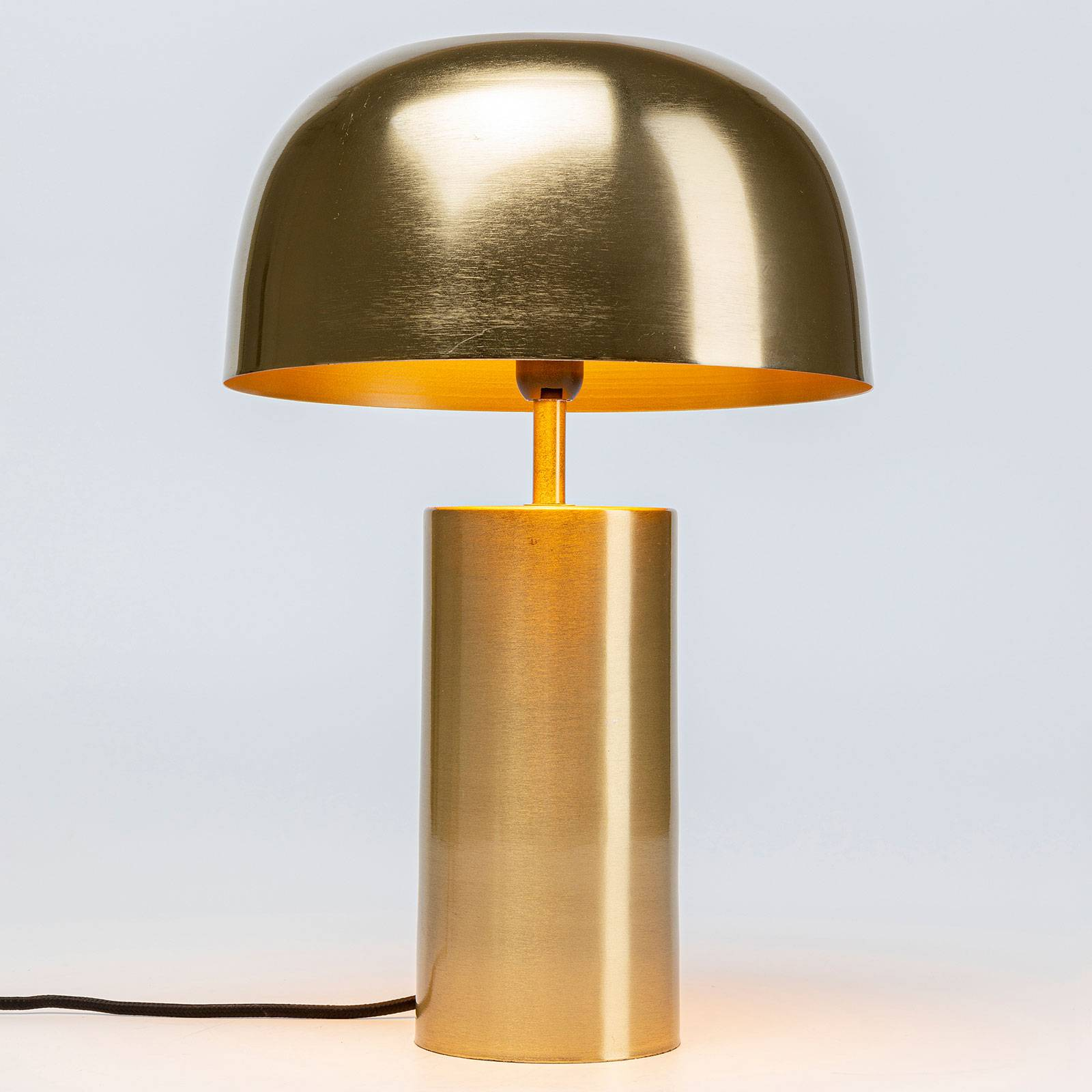KARE Loungy Gold Tischleuchte in Gold