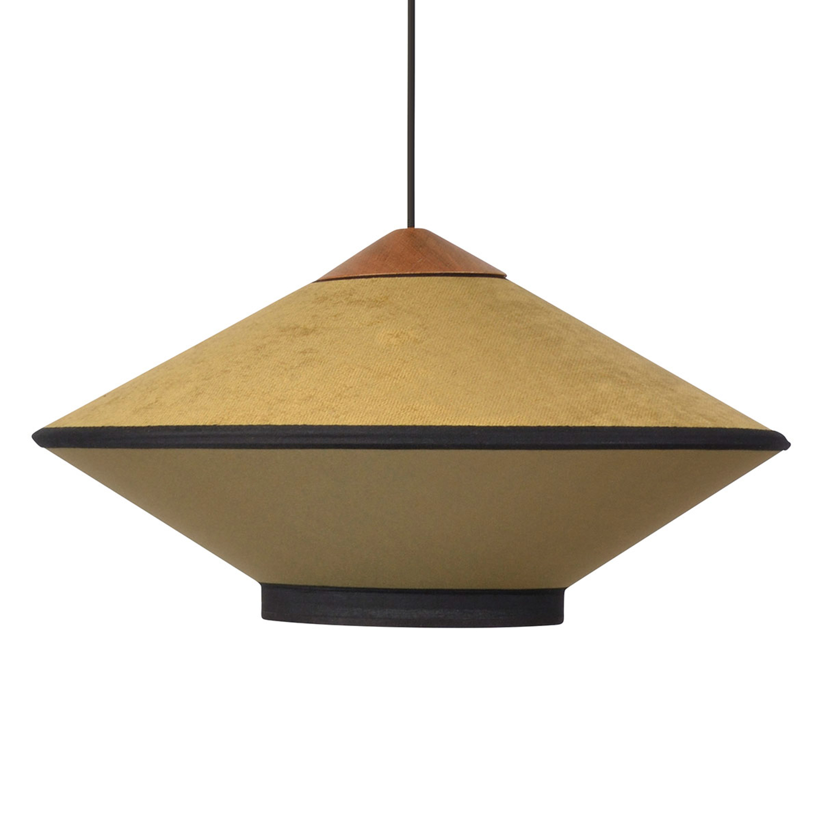 Forestier Cymbal S hanglamp 50cm brons