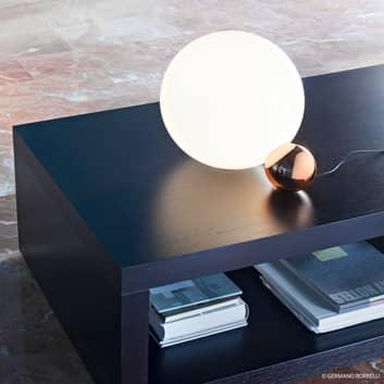 Copycat lampe à poser LED, 2 boules, cuivre