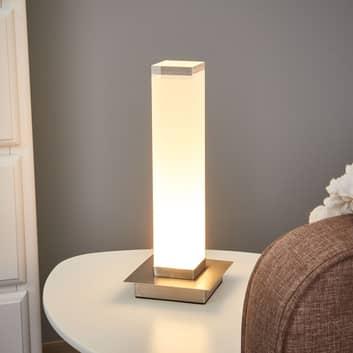 Säulenförmiger Schirm -  LED-Tischleuchte Forma