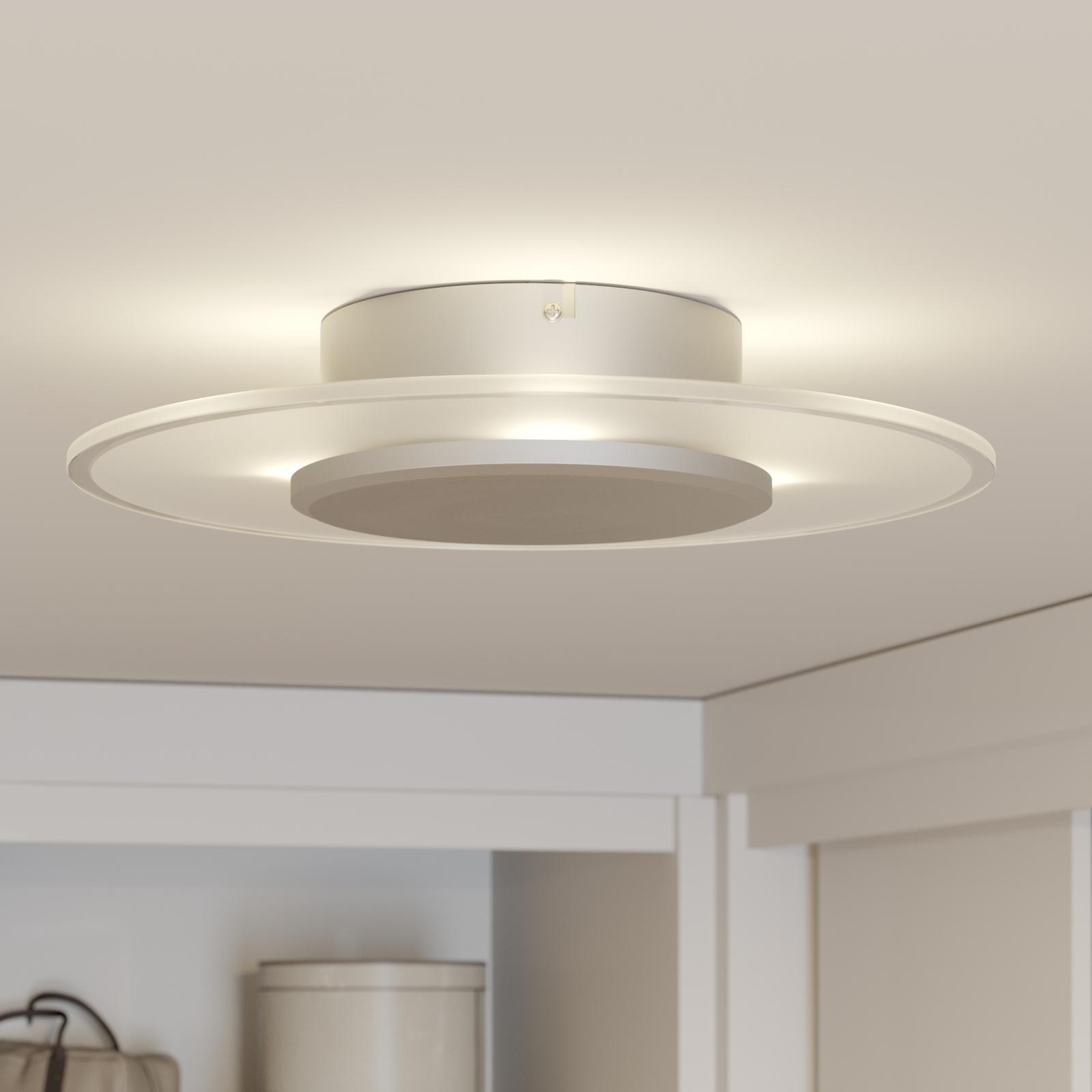 Formvollendete LED-Deckenleuchte Dora, dimmbar