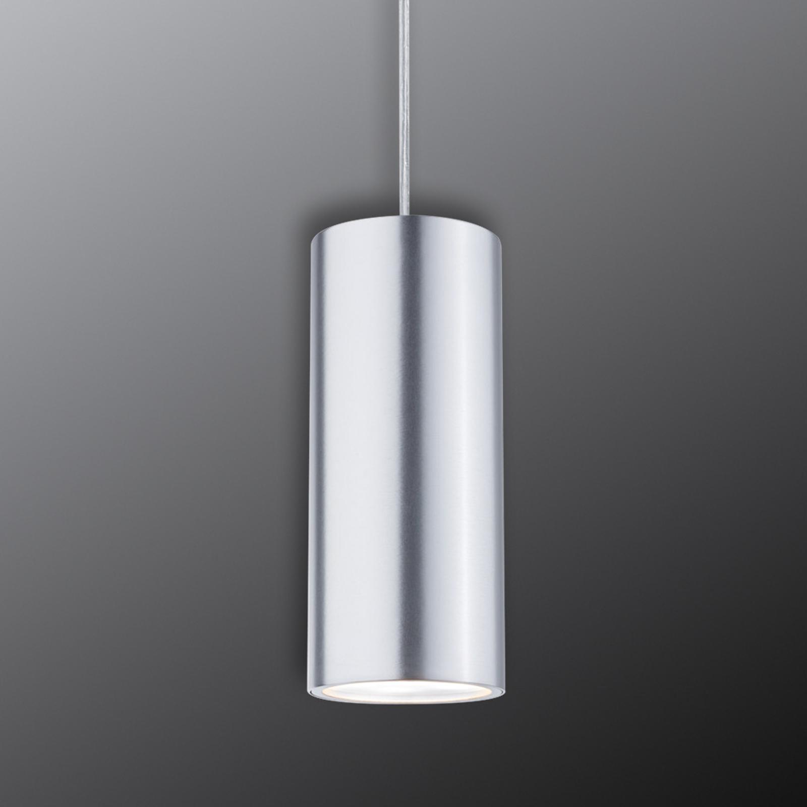 Paulmann URail Barrel lampa wisząca LED, chrom
