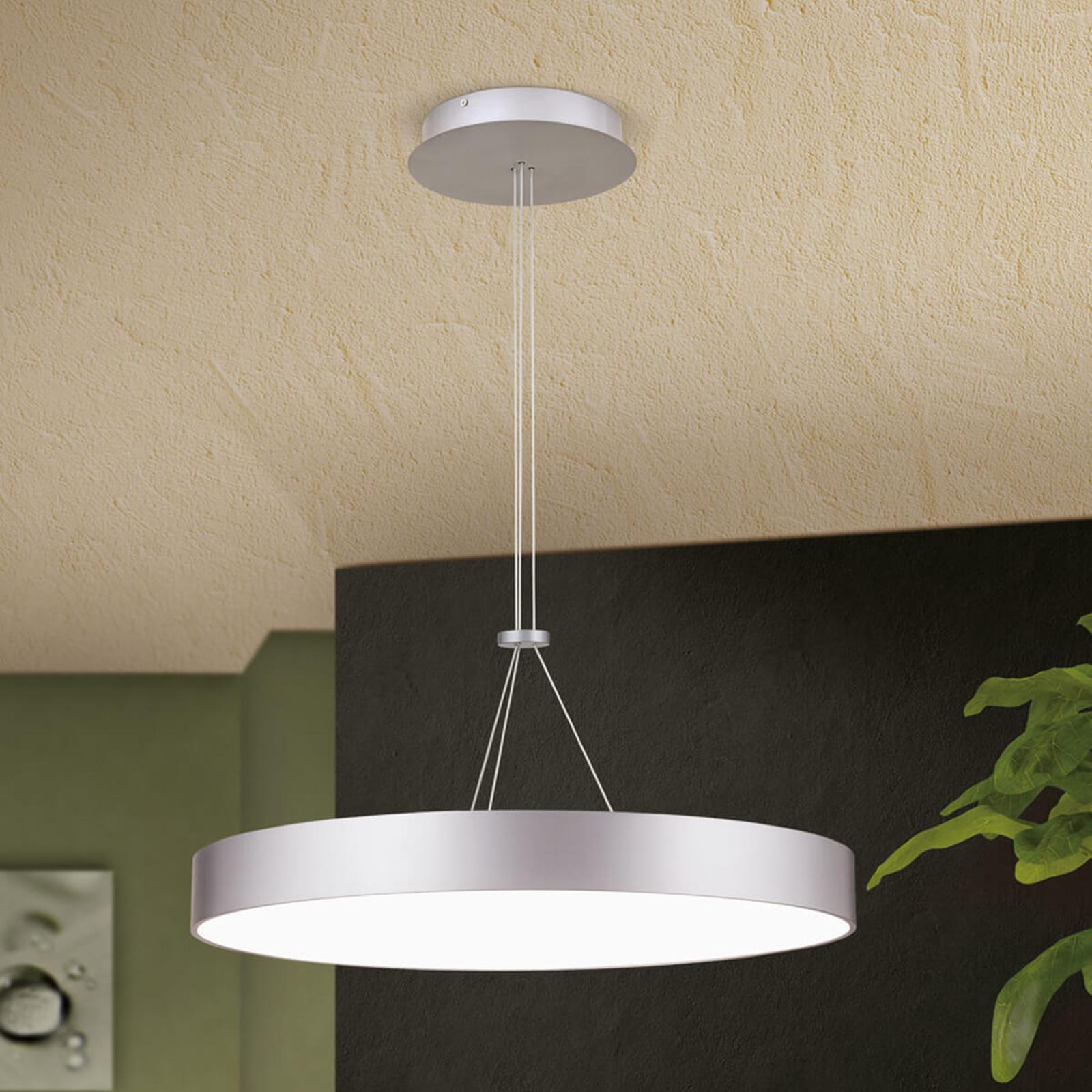 Suspension LED ronde Egilo - à intensité variable