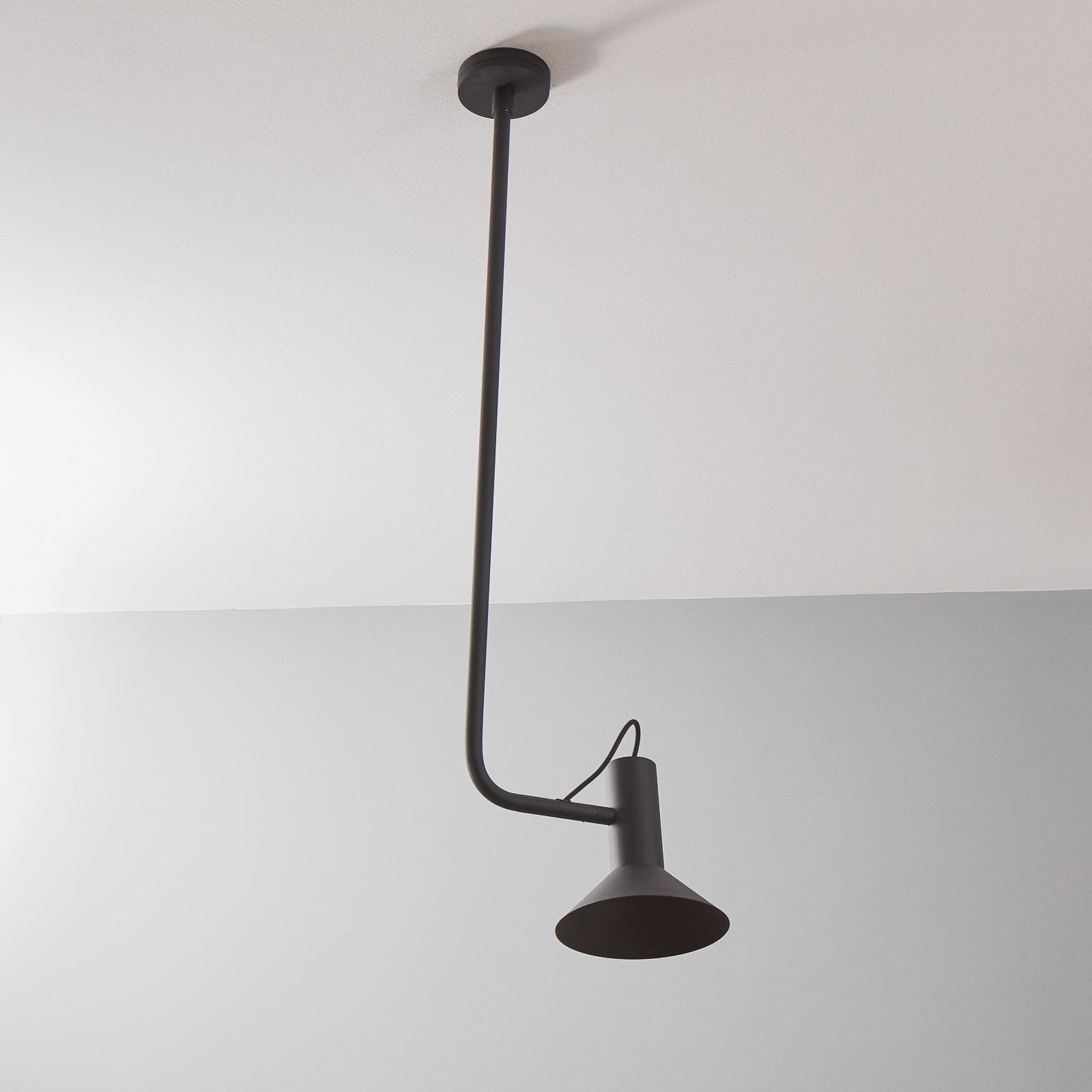 WEVER & DUCRÉ Roomor Hänge GU10 1fl 20,5cm schwarz