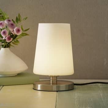 Sonja-LED-natbordslampe med berøringsdæmper