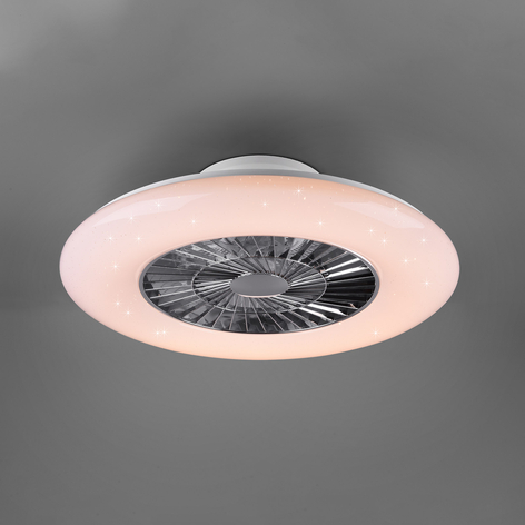 Ventilatore a pale LED Visby Tunable White