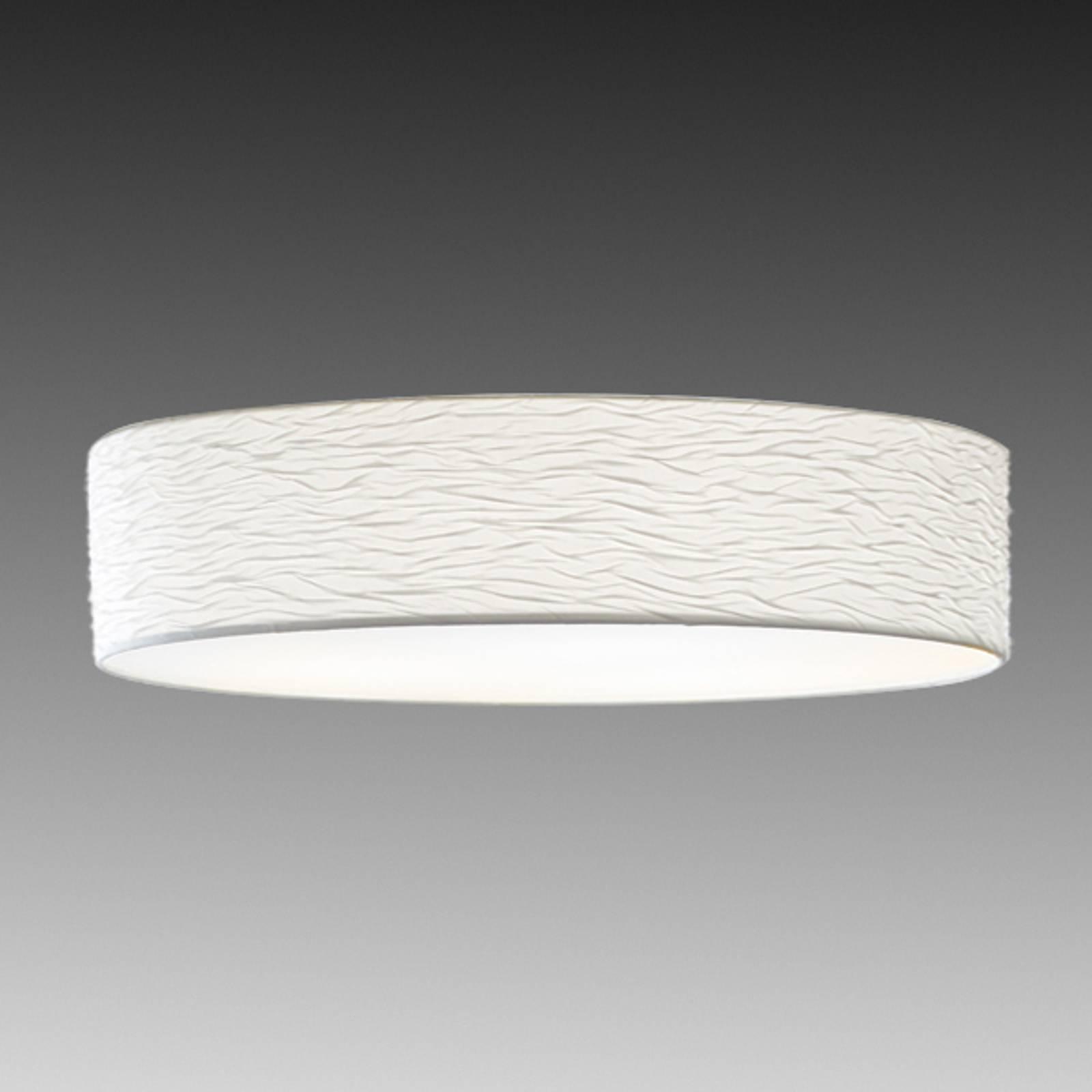 Holtkötter Vita 6 - witte plafondlamp, 100 cm