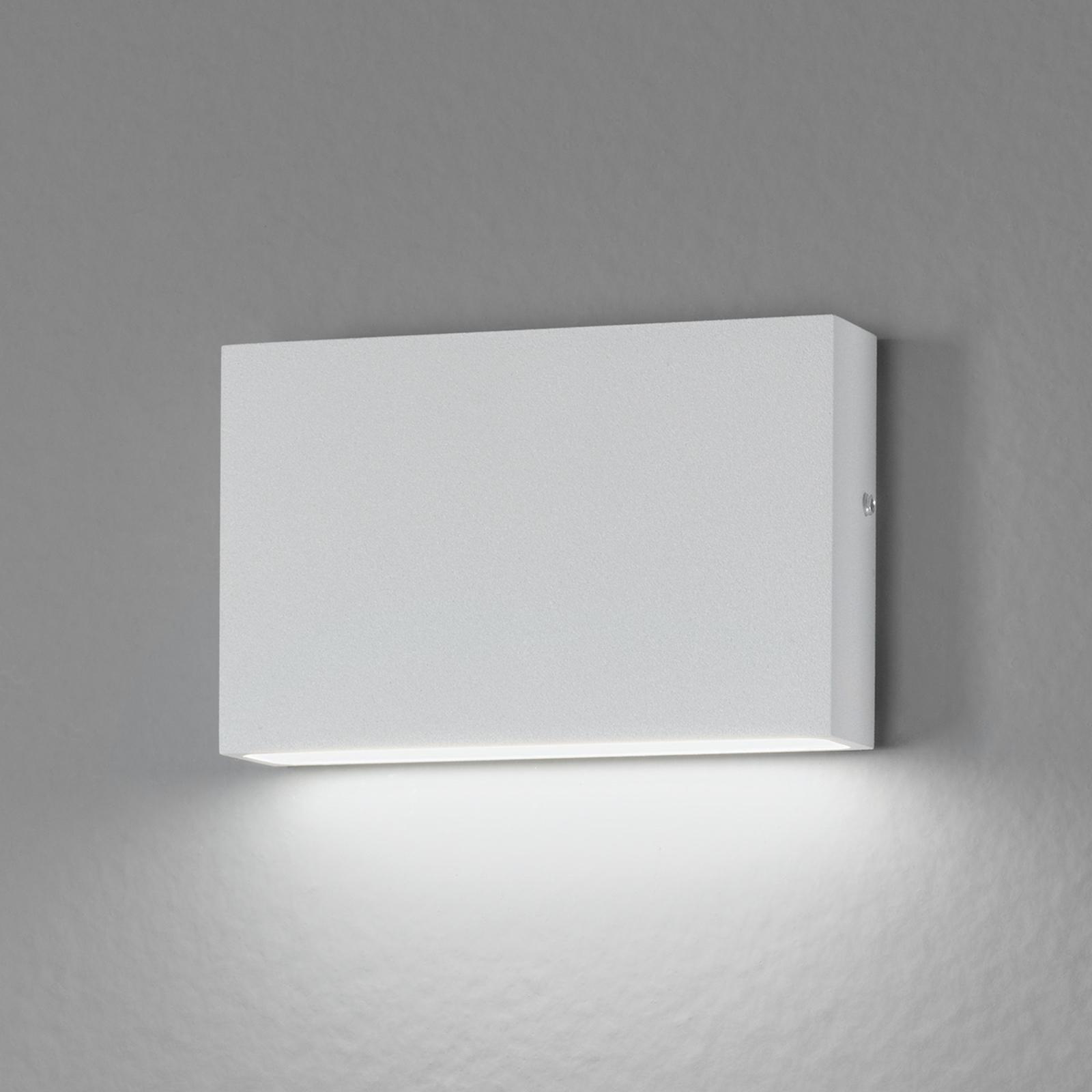 For inne- og utebruk - LED-vegglampe Flatbox