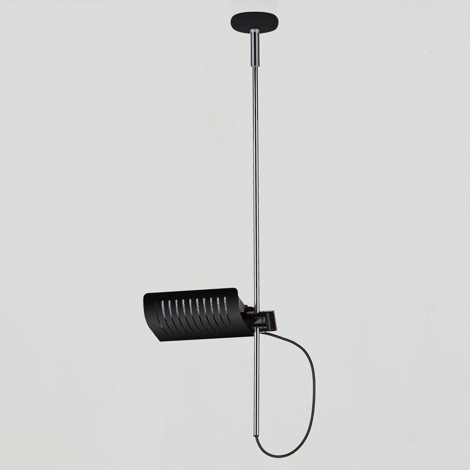 Designerska lampa wisząca COLOMBO 885, czarna