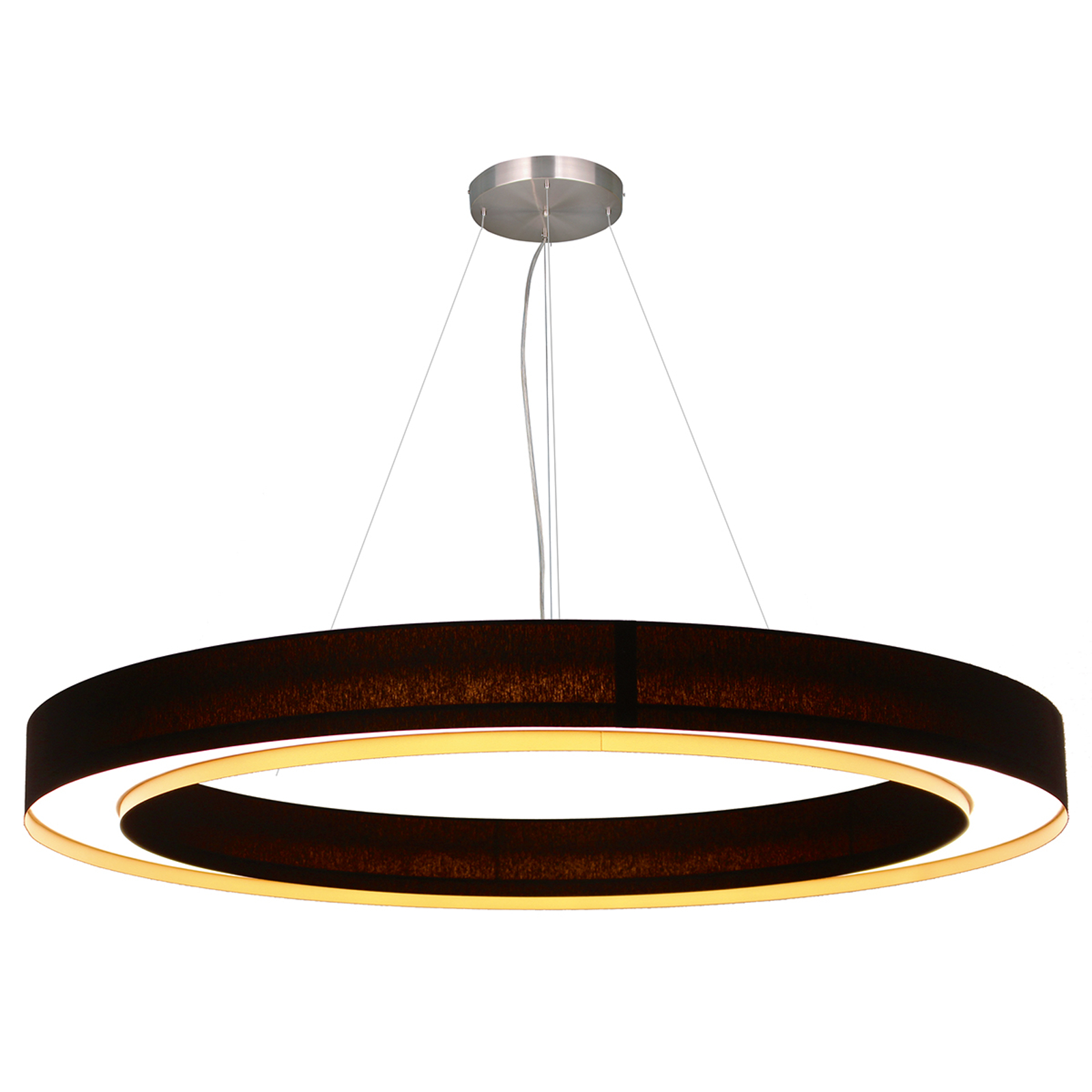 Suspension LED Cloud en forme d'anneau, 96 cm