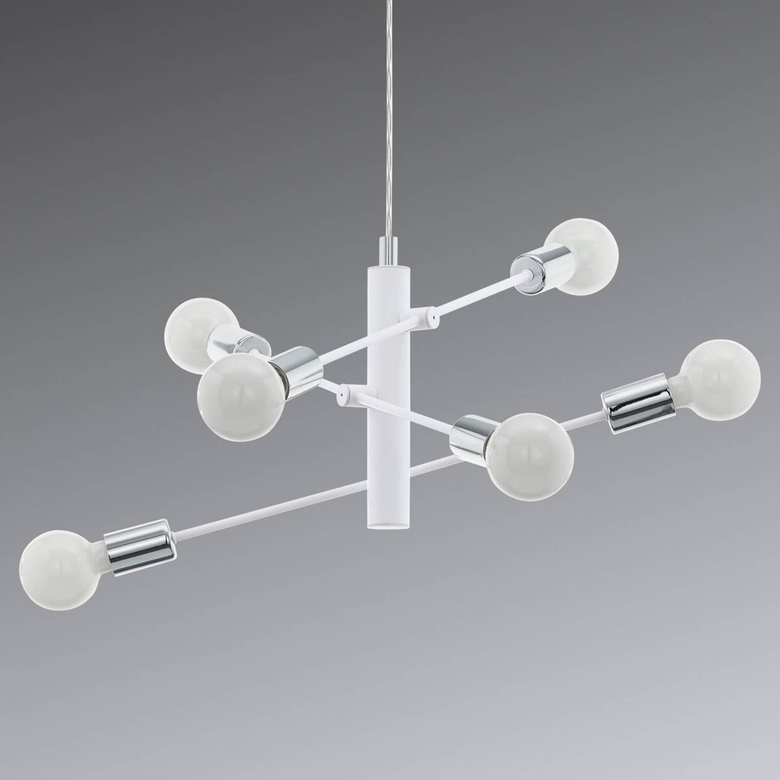 Suspension Gradoli à six lampes