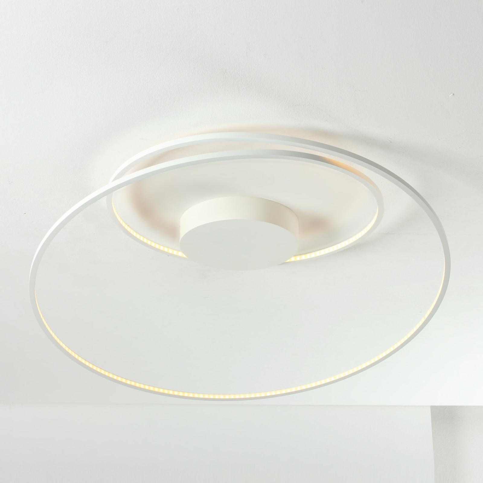 Bopp At stropné LED-svetlo v bielej 70cm