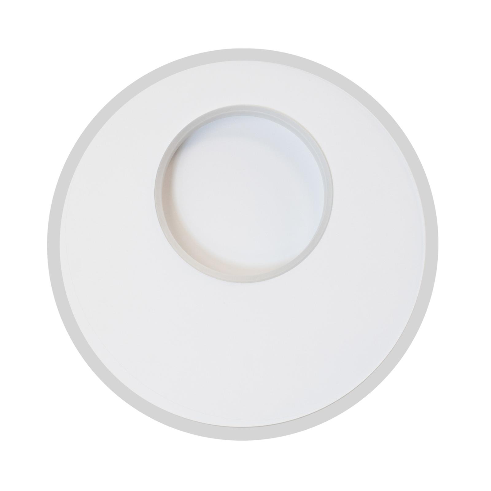 Lampa sufitowa LED Krater biała tunable white