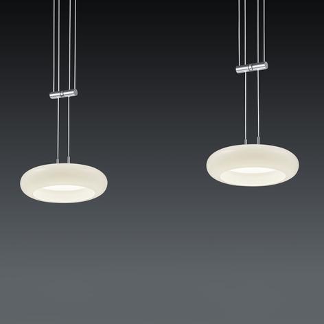 BANKAMP Centa sospensione LED 2 luci