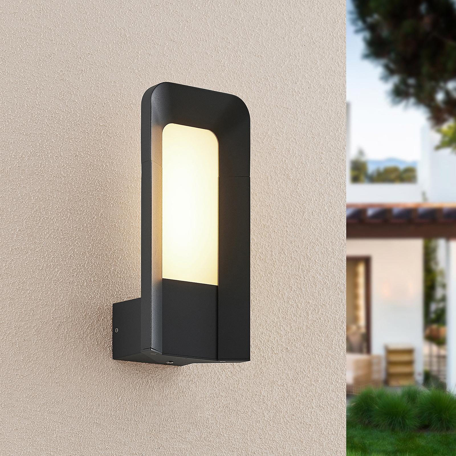 Lucande Secunda LED-Außenwandleuchte