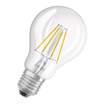 OSRAM LED-lampa E27 5W Classic filament dim 827