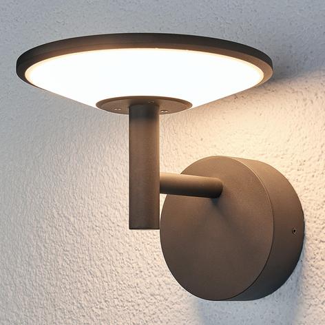 antrasiitinvärinen LED-ulkoseinävalaisin Fenia
