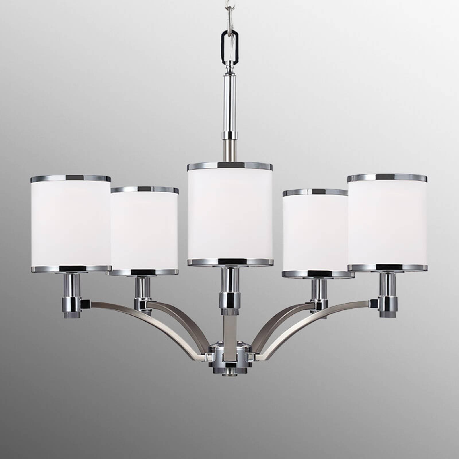 Kroonluchter Prospect Park 5-lamps