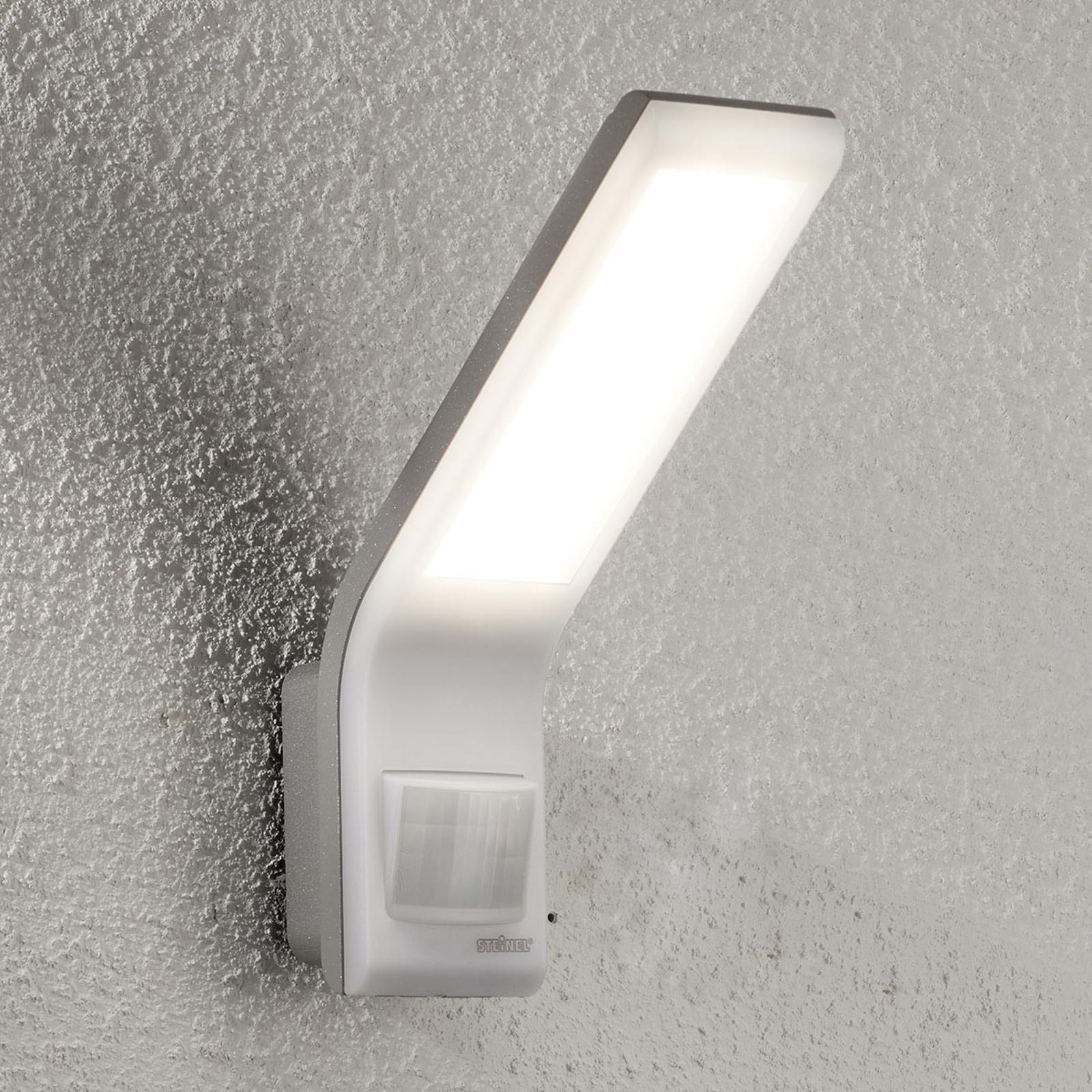 STEINEL XLED slim Sensor-Außenwandleuchte weiß