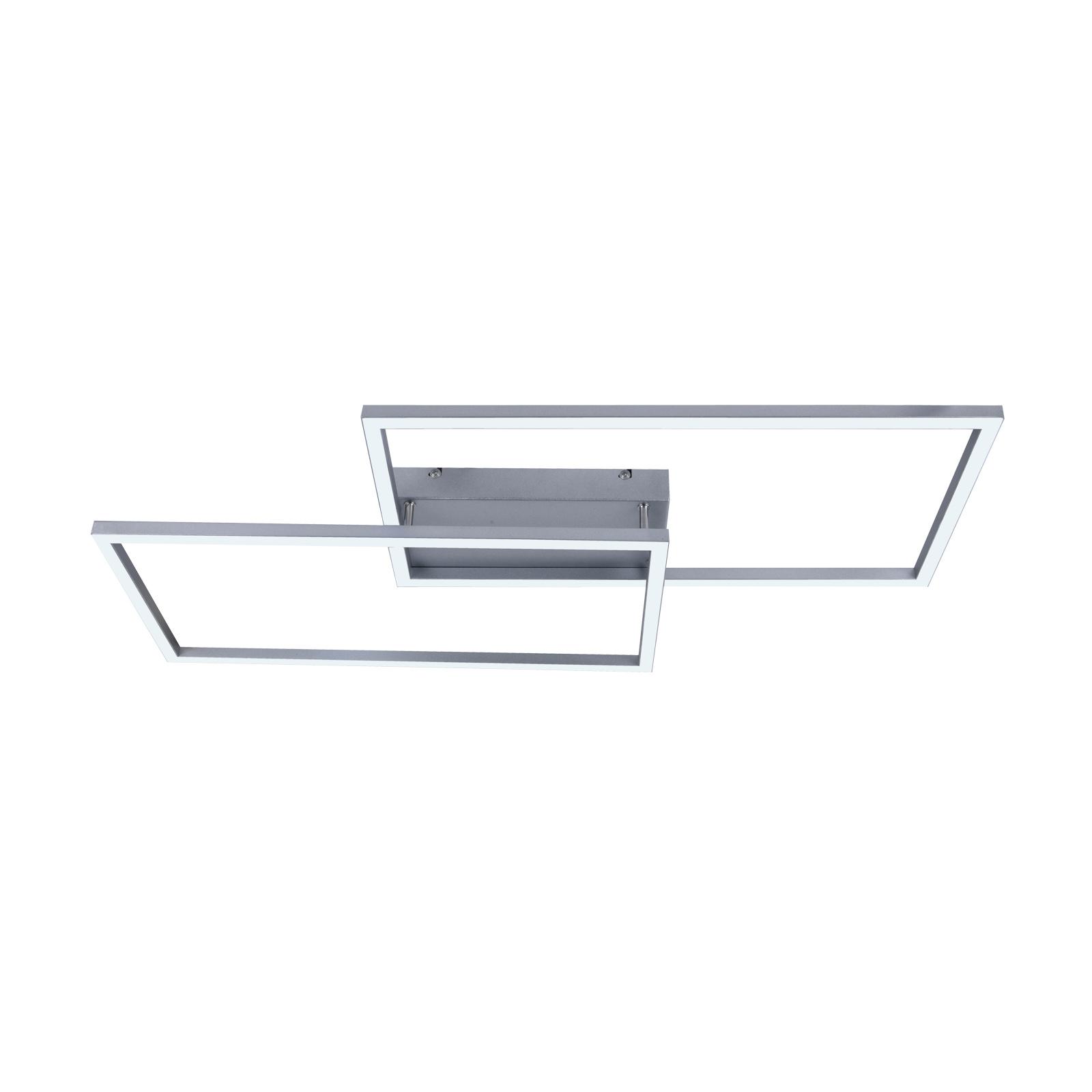 Lucande Muir LED plafondlamp, rechthoeken, CCT