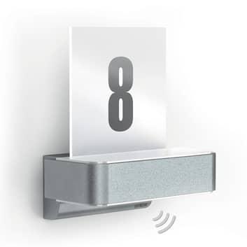 STEINEL L 820 LED iHF Sensor-Außenwandlampe silber