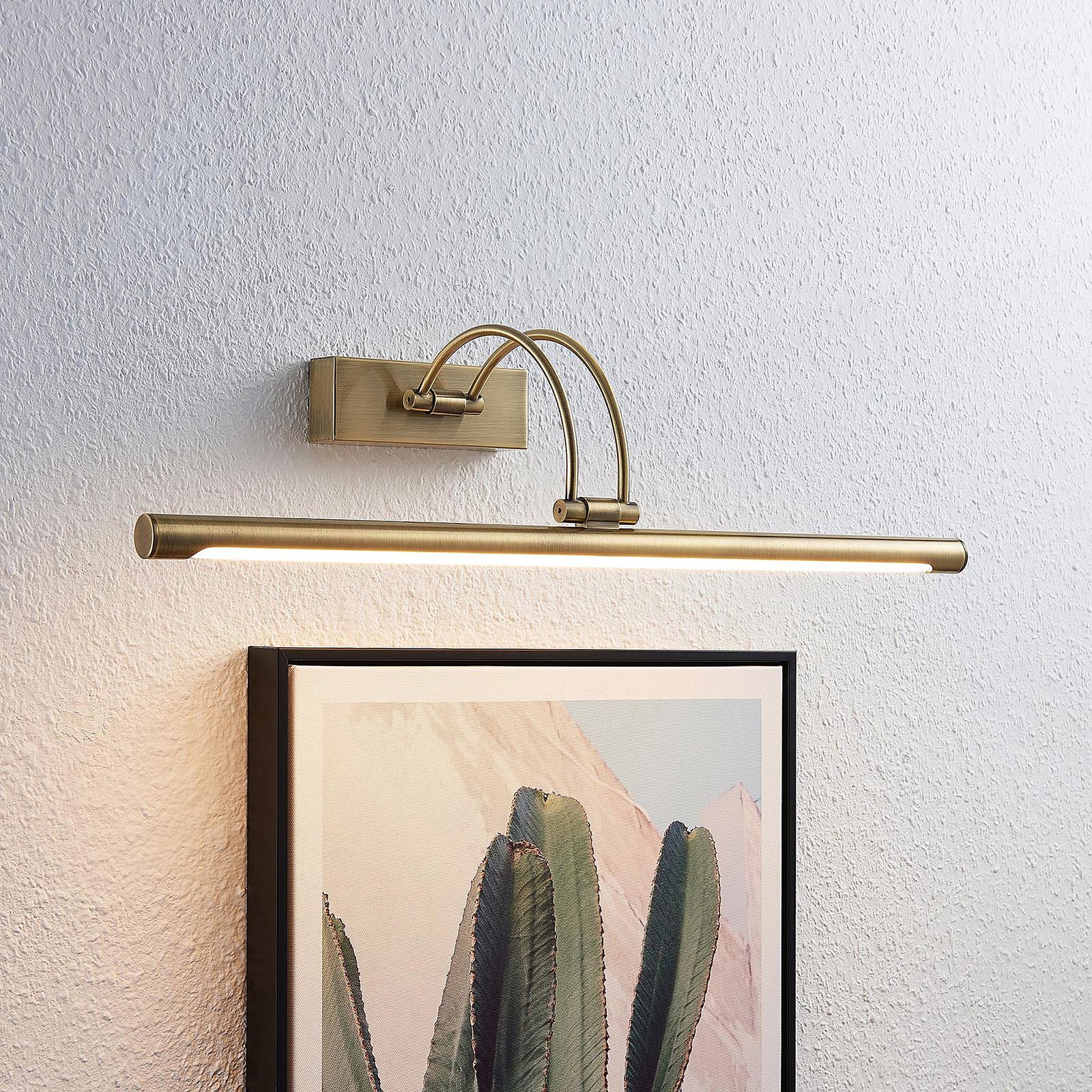 Lucande Dimitrij oświetlenie obrazów LED, wygięte