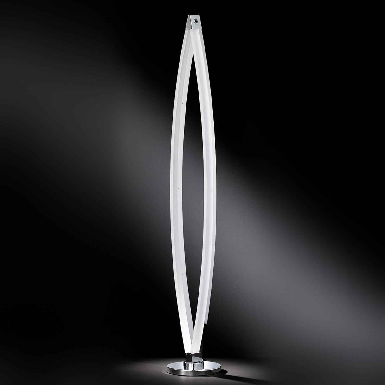 Vannes - nowoczesna lampa stojąca LED