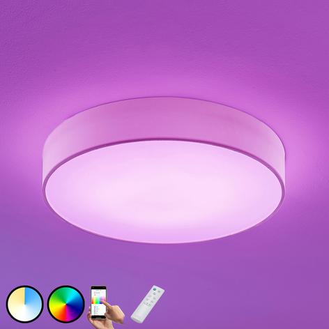 LED-RGB-textiltaklampa Ajai, 3000–5000K, WiZ