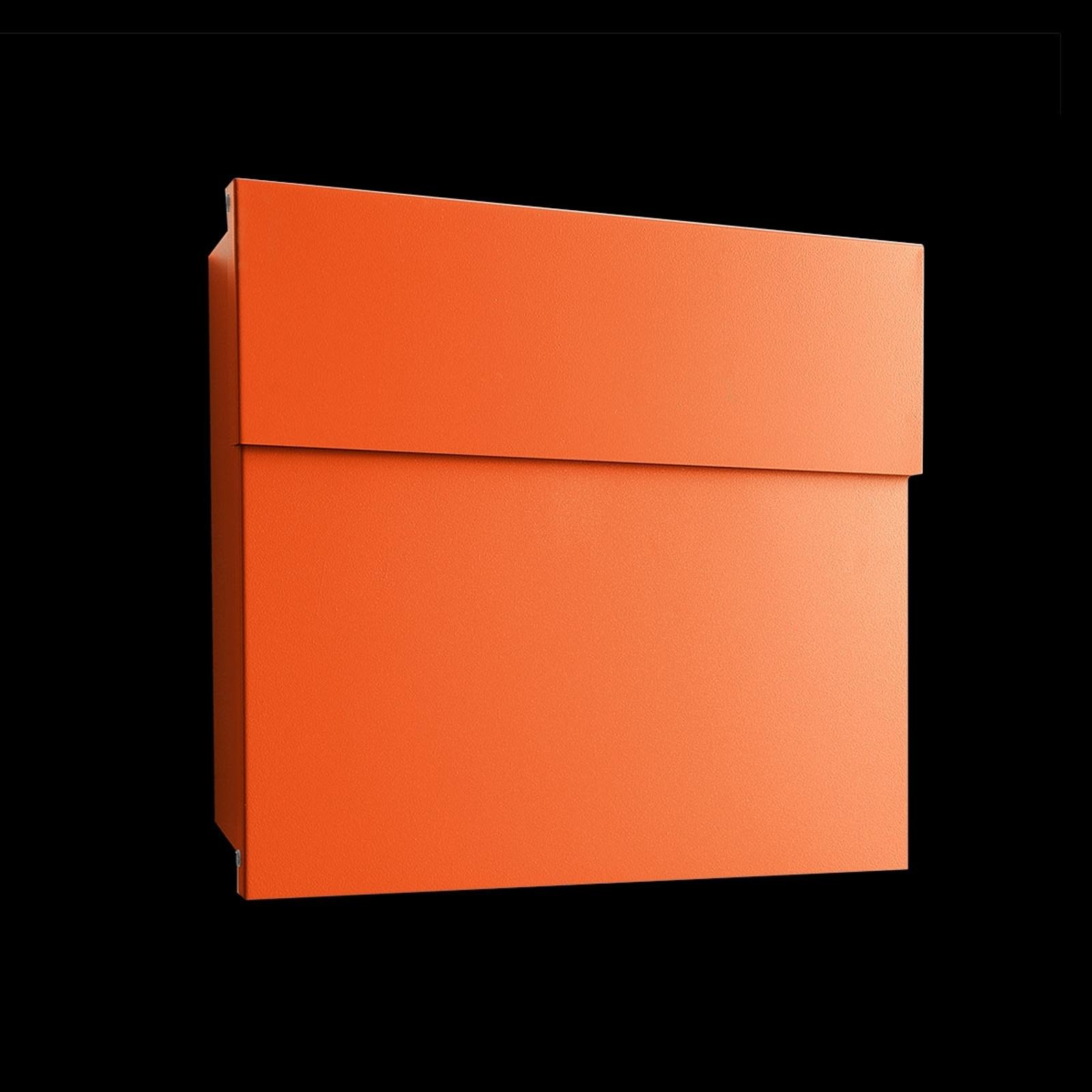 Designová poštovní schránka Letterman IV oranžová