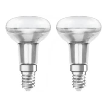 OSRAM LED-reflektorlampa E14 R50 1,6W 2-pack