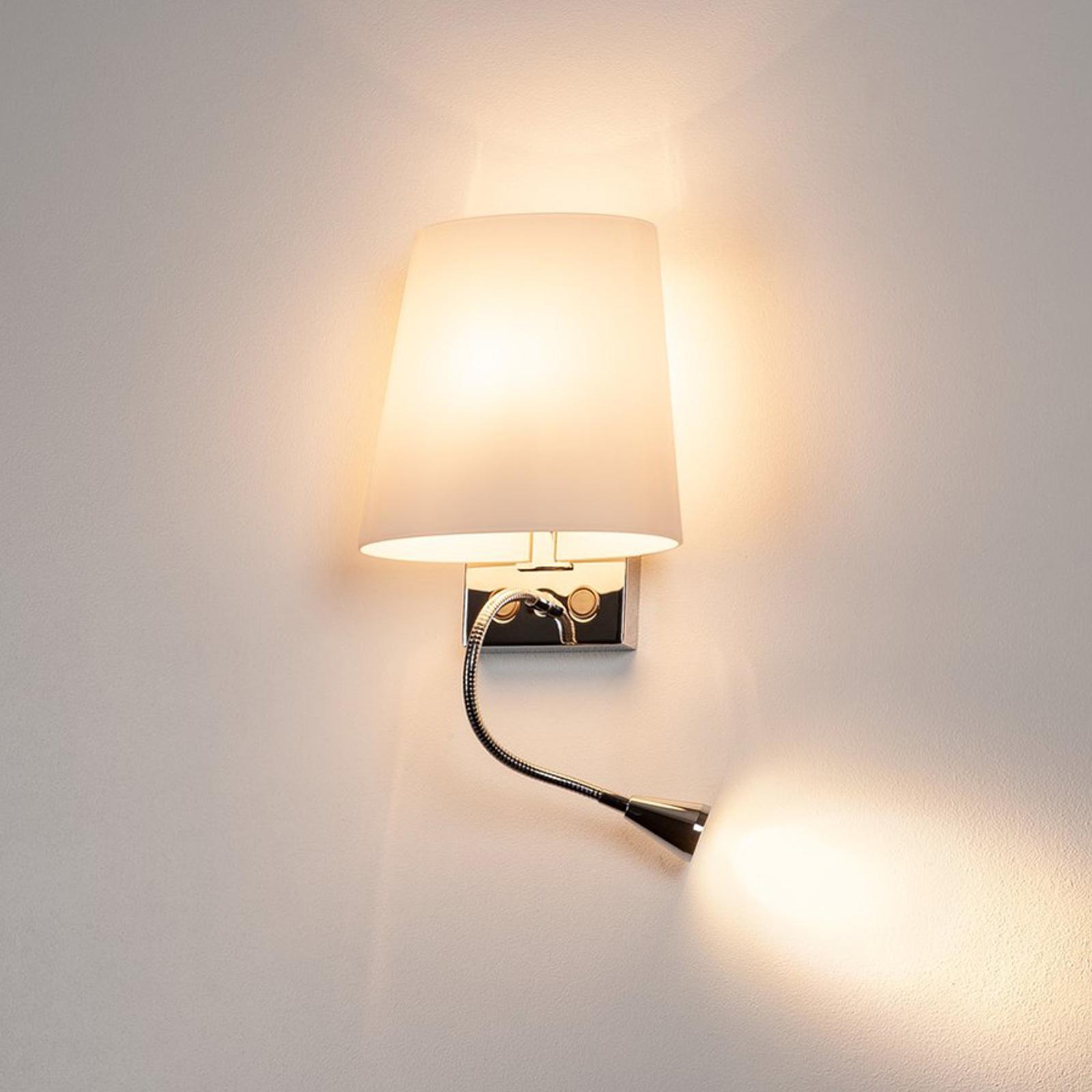 Actuele wandlamp COUPA met led's