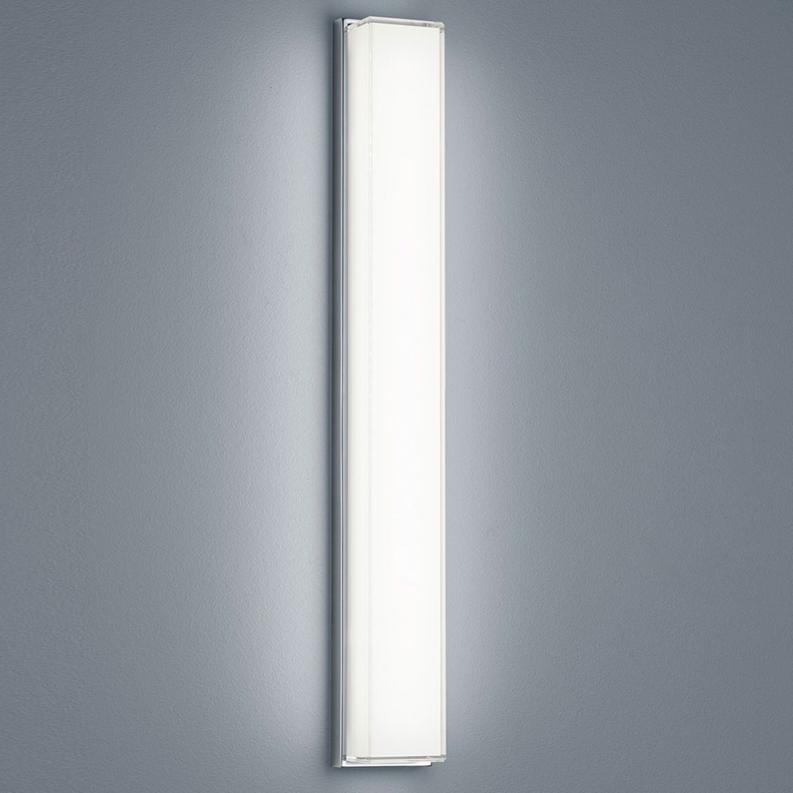 Helestra Cosi LED-Wandleuchte chrom Höhe 61 cm