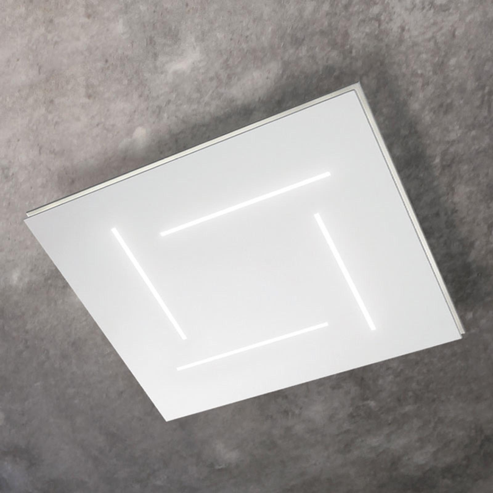 Trail LED-loftlampe, kvadratisk