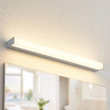 Arcchio Djamal LED-vegglampe, IP44, krom, 70 cm