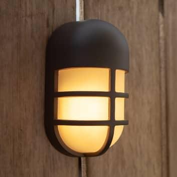 Utendørs LED-vegglampe Bullo