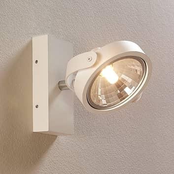 Projecteur LED blanc Lieven pour mur et plafond