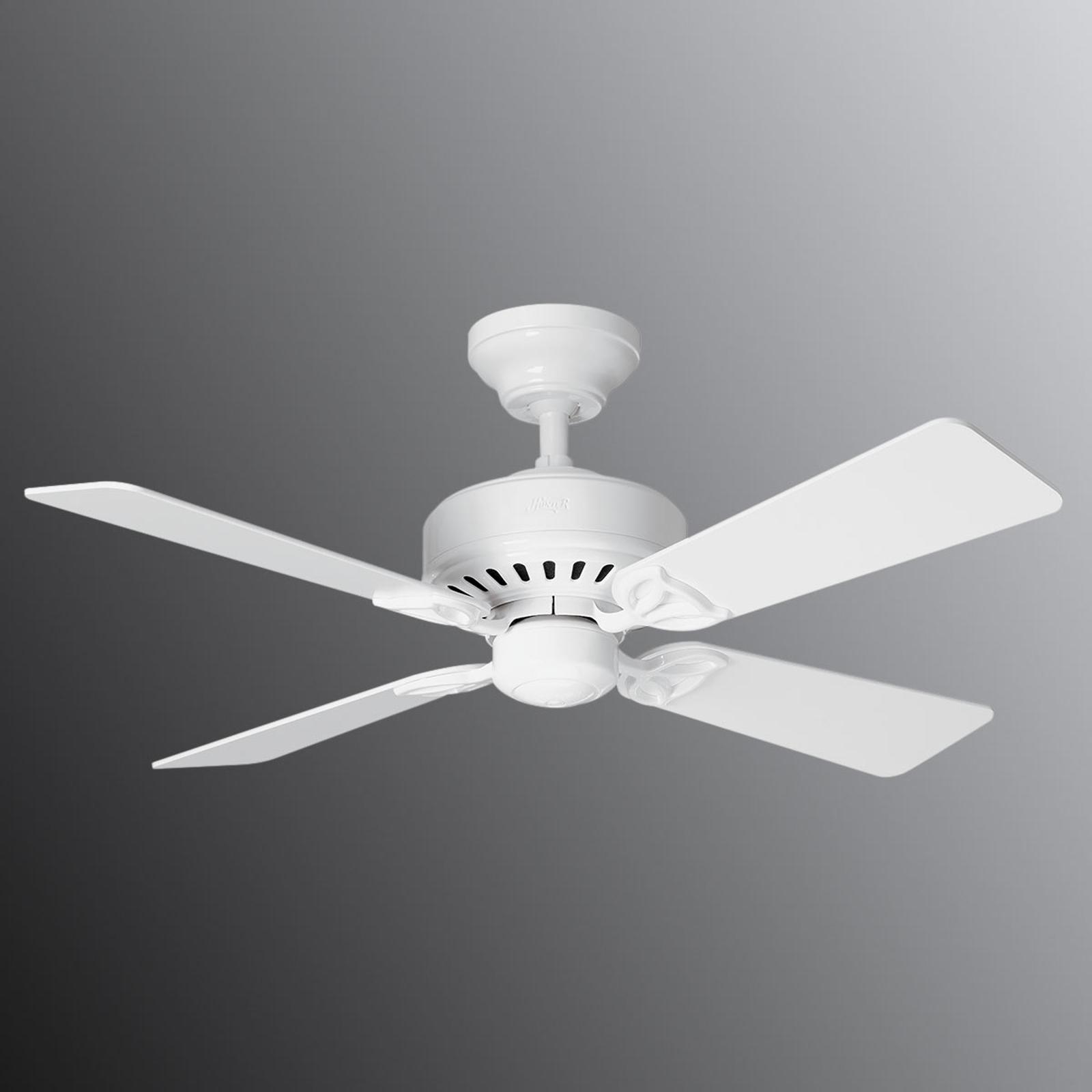 Hunter Bayport ventilateur plafond blanc/chêne