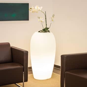Dekorativní lampa Storus V, bílá průsvitná