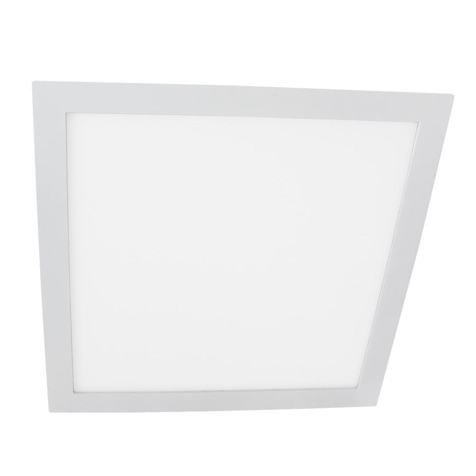 Moon Square LED-downligt, hvit, 18W, 3 000 K