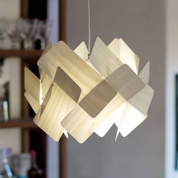LZF Escape lámpara colgante de chapa de madera