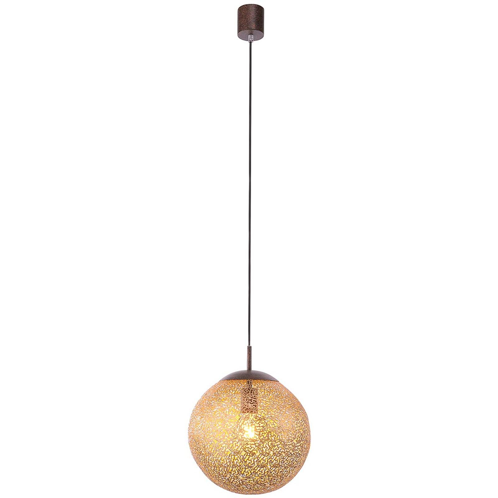 Greta - suspension de couleur or 30 cm